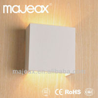 led plaster indoor gypsum white decor art wall lamp