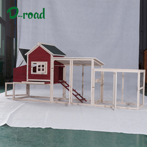 Newest customize outdoor wooden chicken coop with run cage and hen house