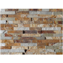 HS-G06 stacked fire resistant natural travertine stone pieces