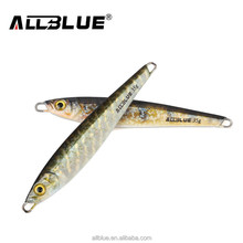 ALLBLUE 3D Print Simulation Super Hard Laser Body Lead Fish 35g Metal Jigg Lure