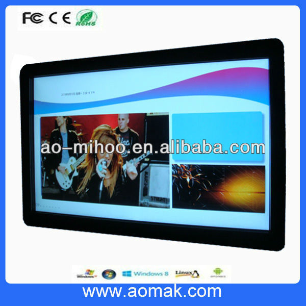 19 inch LCD Advertising Player Wall Mount