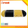 CE passed Easy Installation rubber road speed hump bump