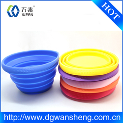 food grade collapsible silicone bowls, collapsible water bowl
