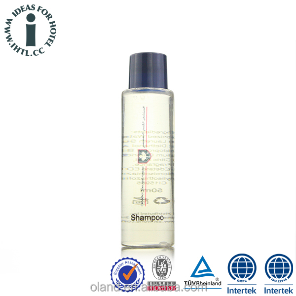 Factory Supply Packaging Shampoo Hotel Amenities Bottle