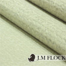 China direct textiles factory high quality 100% polyester shiny sofa velvet flocked fabrics textile