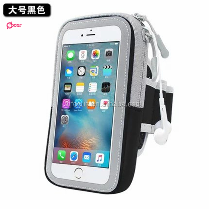 New Popular outdoor running armband bag for samsung galaxy s6 waterproof armband bag cell phone for iphone 6/6s