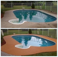Swimming Pool EPDM Rubber Flooring, Rubber Swimming Poor FN-I--15073001