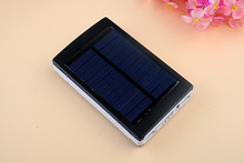 Outdoor solar mobile power 7500mAh universal slim mobile power for iPhone 6 charging power bank