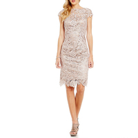 Women lace dress designs model bling bling cocktail dress