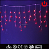 LED red wedding and christmas decorative icicle lantern lights