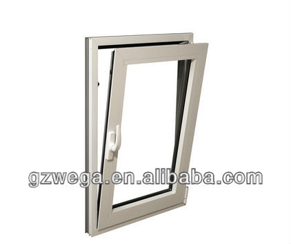 Good quality ! aluminum profile tilt and turnt glass window
