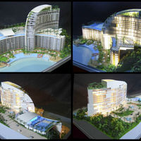 Residential Project Scale Model Residentail Construction