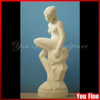 Life Size Marble Beauty Nude Girl Statue