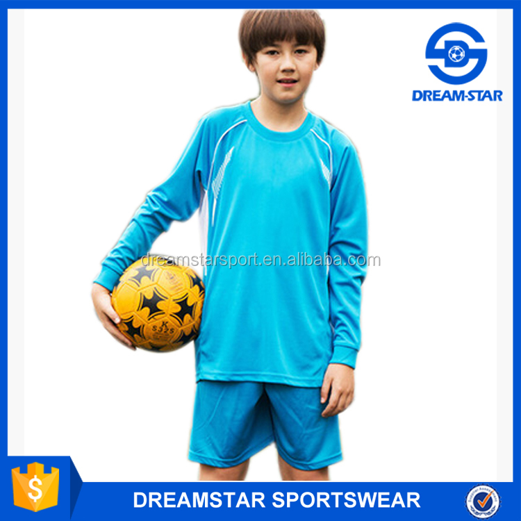 Hot Sale High Quality Design Your Own Kids Soccer Uniform