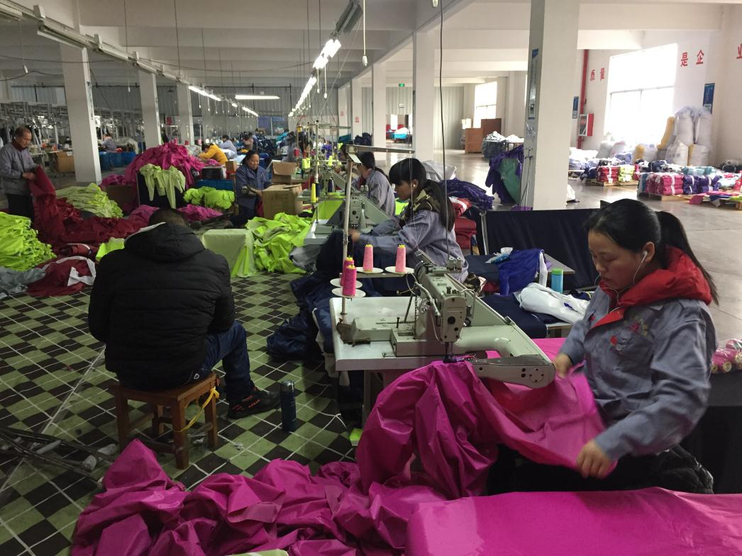 Rain Coat Producing Line