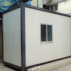 Prefabricated modular houses cambodia 20ft container house plan
