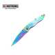 Wholesale Knives China Personalized Colorful Creative Design easy using titanium pocket knife