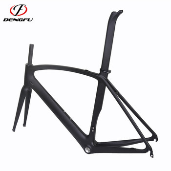Made in china bike carbon frame best design With 700C Carbon Fork
