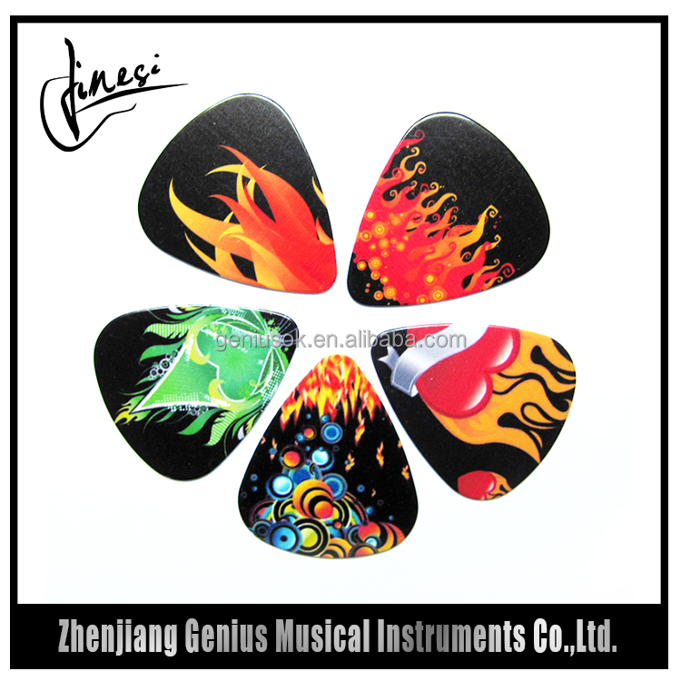 Fashional Designed Cool Colors Acoustic Guitar Plectrums