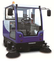 manufacturer road sweeper, tow road sweeper/road vacuum cleaner/closed cabin driveway street sweeper car - SIECC