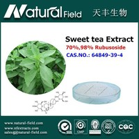 With 12 years experience 100% Pure Standardized sweet tea leaf extract powder