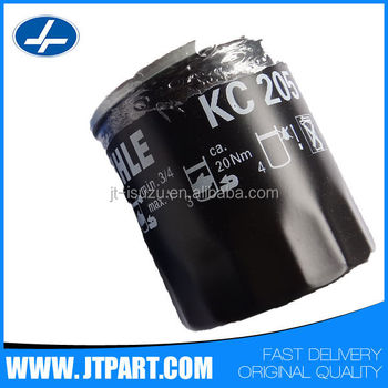 KC205 for 4JA1/4JB genuine parts Fuel filter