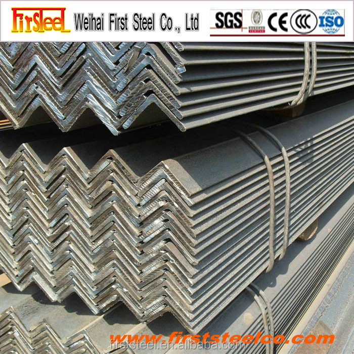 China factory producing hot rolled steel angle iron dimensions