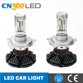 Updated G7 7s Generation ZES chips 5000lm h4 car auto led headlights