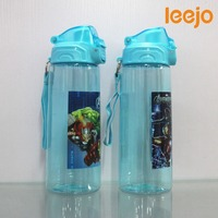 Flip top bottle plastic bpa free drink bottle sports manufacturing factory