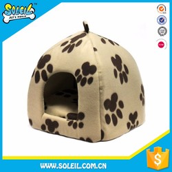 Customized Logo Colorful Polyester Unique Dog House