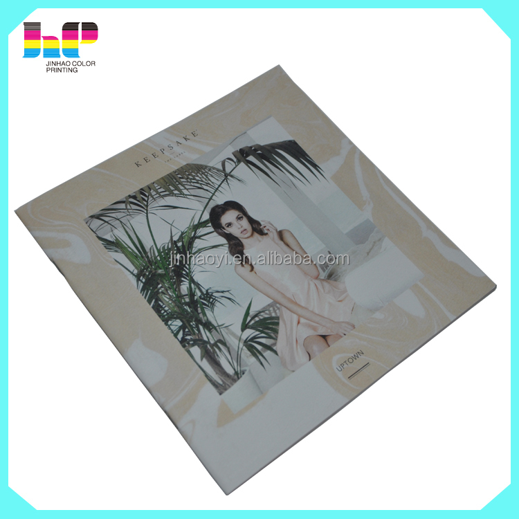 CMYK Full color offset printing wedding photo album