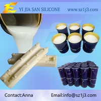 high temperature resistant silicone rubber make PU molds for sale