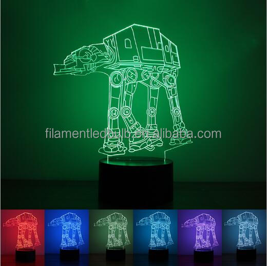 FS-2855 usb led plush animal night light 3d night light LED living room table lamp