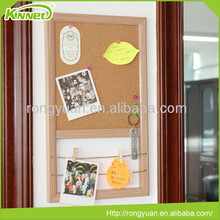 Home decoration wood frame wholesale cork board
