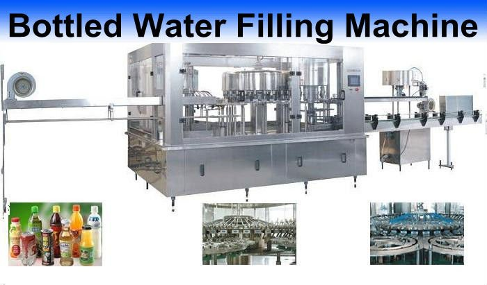 Carbonated drink auto washing,filling and sealing production line