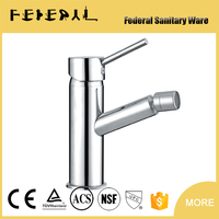 Deck Mounted Basin Tap Bathroom Bidet Faucet