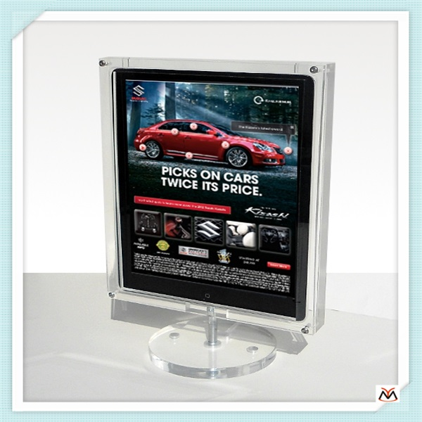 book stand,clear acrylic rotating display stand,acrylic display