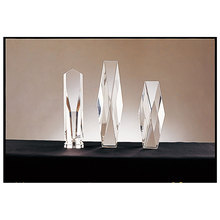 Quality assurance crystal awards low price trophy gift
