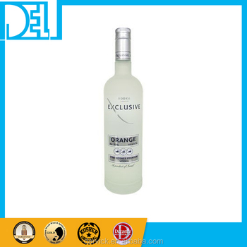 Natural and Organic Kosher Original Israel imported Exclusive Orange Flavored Vodka