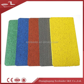 Fitness Center used gym rubber roll mats / interlocking EPDM rubber floor for cossfit