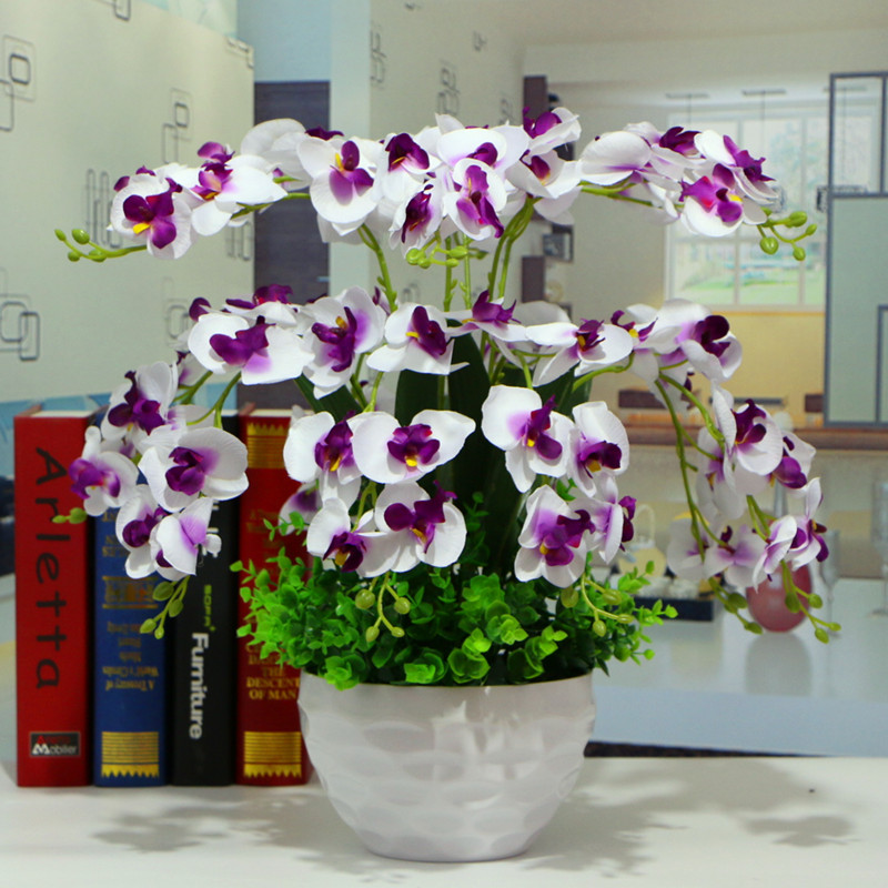 wholesale artificial plants orchids flowers artificial plants
