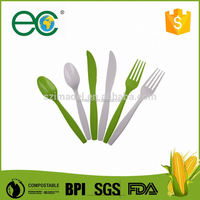 Disposable cpla biodegradable cutlery for wedding