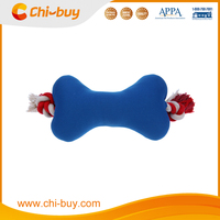 Chi-buy Dog Toy With Squeaker, Soild Color Bone, Free Sample