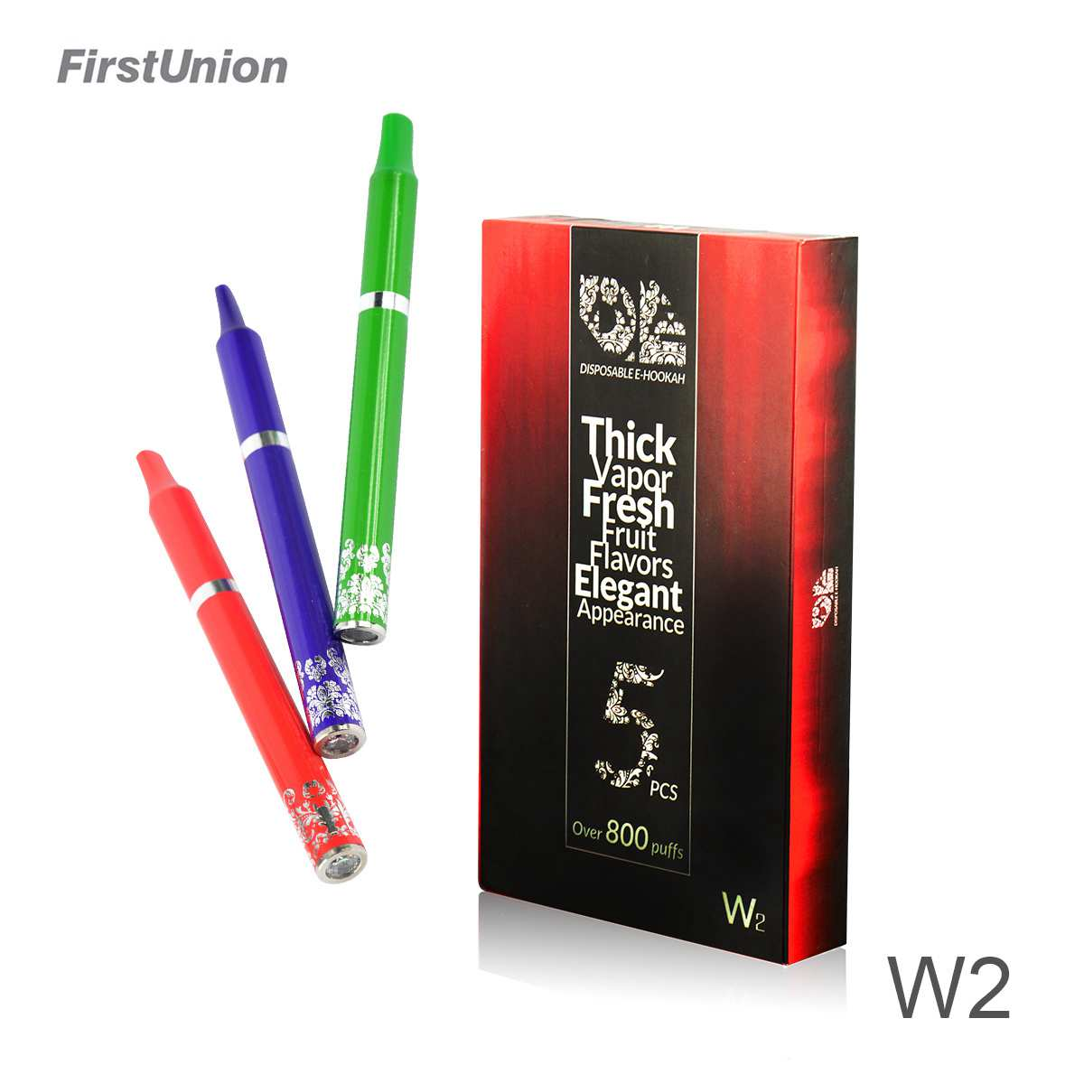 Cheap inventions disposable shisha pen 800 puff e hookah w2 e hookah vaporizer pen dubai