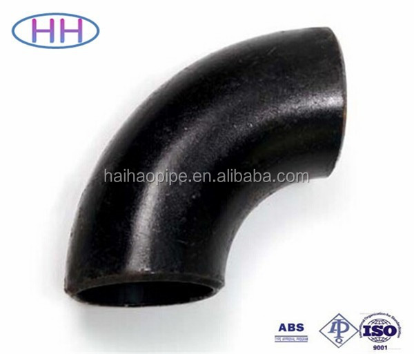 ASME B16.9 BW BUTT WELDING SEAMLESS CARBON STEEL PIPE FITTING, PIPE ELBOW