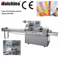 DZP250C Good Service Horizontal Chocolate Bread Flow Packing Machine