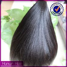 2015 best selling soft and smooth 7A grade cheap virgin brazilian yaki human hair