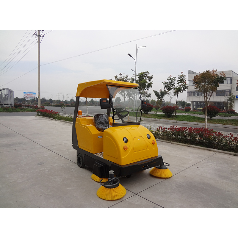 New Promotion New Electric Power Pavement Sweeper With CE Certification