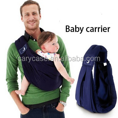 new brand baby wrap carriers, kids feeding carrier slings backpack, Navy blue 100% organic cotton baby supportive wrap slings