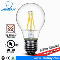 high quality china factory price 3 way dimmer led bulb 8w e27 e26 b22